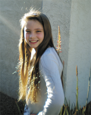 lady competes for Miss Jr. Pre-Teen / January 27 - February 2, 2010