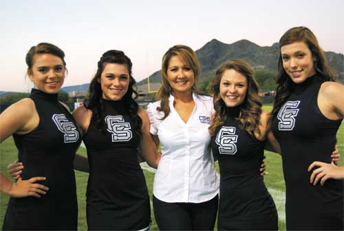 Cactus Shadows Competition Cheer: 'They're in the mix for number six!'