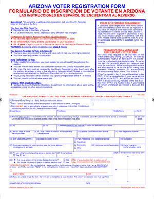 National Voter Registration Act | July 11, 2012 | Sonoran News