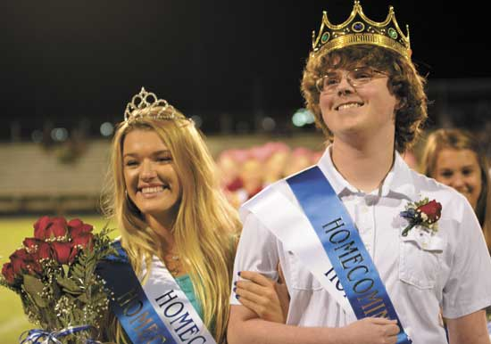 cshs homecoming king & queen